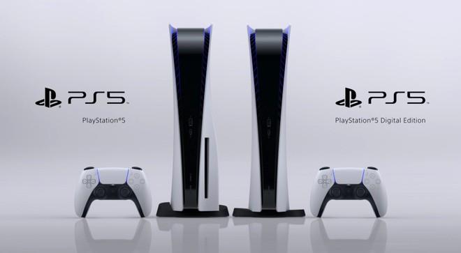 PS5 consolle Sony nelle due varianti di modello