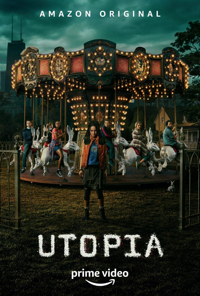 Utopia Locandina Serie TV
